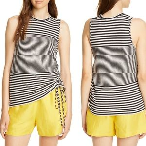 🆕 Joie Columba Multistripe Sleeveless Tee